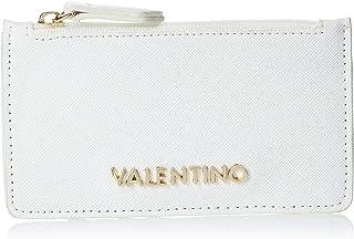 VALENTINO Womens Card Holder, White - VPS3XZ816