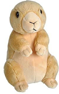 Wild Republic Wild Calls Prairie Dog Plush, Stuffed Animal, Plush Toy, Kids Gifts, 6.5