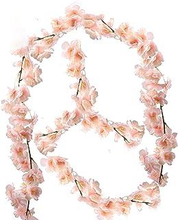 nobrand künstliche Blumne Kirschblüten Girlande Künstlich