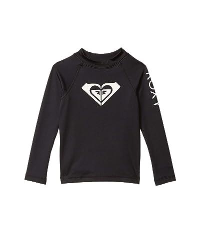 Roxy Kids Whole Hearted Long Sleeve Rashguard (Toddler/Little Kids/Big Kids)
