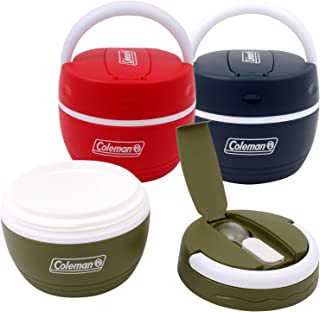 Coleman 16.9 oz Insulated Plastic Lunch Box with Spoon - Color May Vary