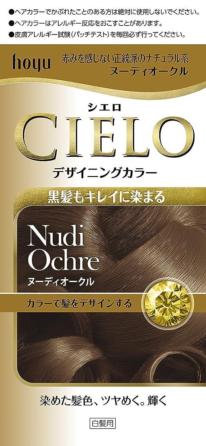 慣習貫通刈り取るホーユー シエロ デザイニングカラー (ヌーディオークル) ×3個