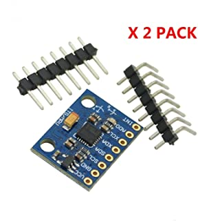 Wit-fancy Arduino GY-521 MPU-6050 Module 3 Axis analog gyro sensors 3 Axis Accelerometer Module