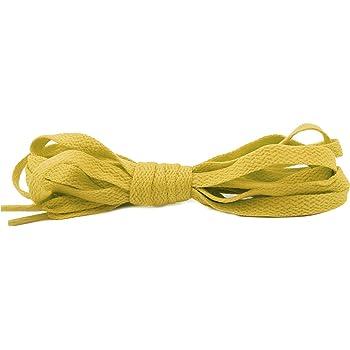 Fashion Flat Shoelaces Mustard Yellow