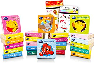 """Animal ABC Board Books Set Toddlers Babies -- Pack of 24 """"My First"""" Mini Board Books with Stickers (Alphabet Board Books)"""