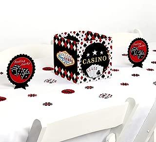 Big Dot of Happiness Las Vegas - Casino Party Centerpiece & Table Decoration Kit