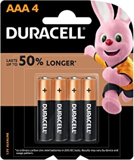 Duracell 32049 Type AAA Alkaline Batteries, pieces of 4 - (Pack of1)