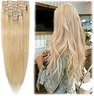 Best 24 inch blonde human hair extensions Reviews
