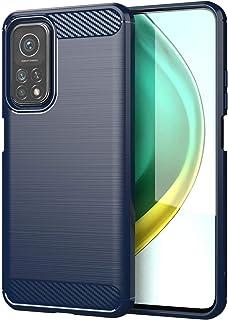 شاومى مى 10 تى / مى 10 تى برو (Xiaomi Mi10T / Mi 10T Pro 5G) جراب خلفي سيليكون مقاوم للصدمات من راجيد شيلد - أزرق