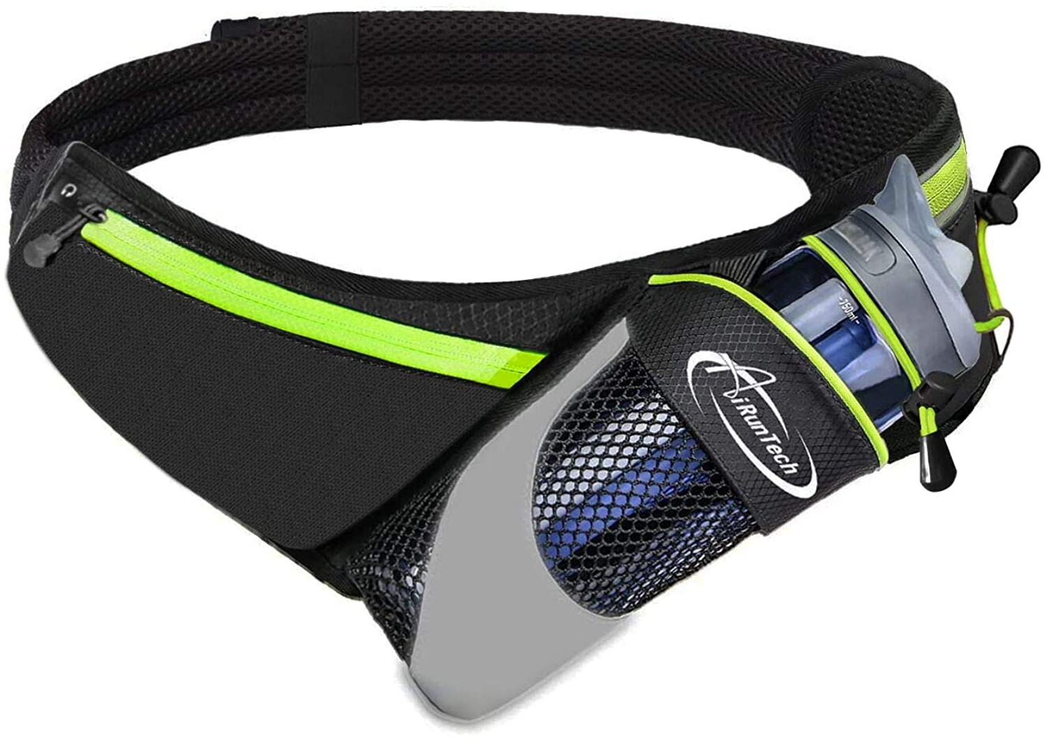 AiRunTech Upgraded No Bounce Hydration Belt Size D be Cut Can OFFicial mail order to Limited Special Price