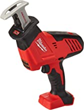 Milwaukee 2625-20 M18 18-Volt Lithium-Ion Cordless Hackzall Reciprocating Saw, Bare Tool