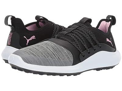 PUMA Golf Ignite Nxt Solelace (Black/Metallic Pink) Women