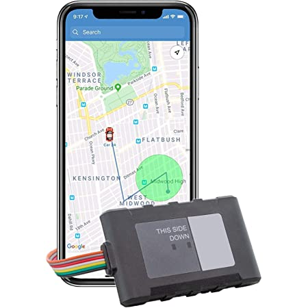 Brickhouse Security LTE Livewire 4 Vehicle GPS Tracking Device For Cars, Trucks, Teens, Fleets, With No Batteries Required - Subscription Required!