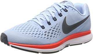 NIKE Womens Wmns Air Zoom Pegasus 34, Ice Blue/Blue Fox,...