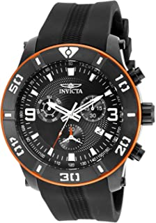 Invicta Men's 19827 Pro Diver Analog Display Swiss Quartz Black Watch