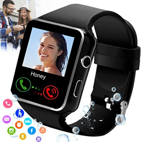 iFuntecky Smart Watch,Smartwatch for Android Phones,Smart Watches Touchscreen with Camera Bluetooth Watch Cell Phone ...