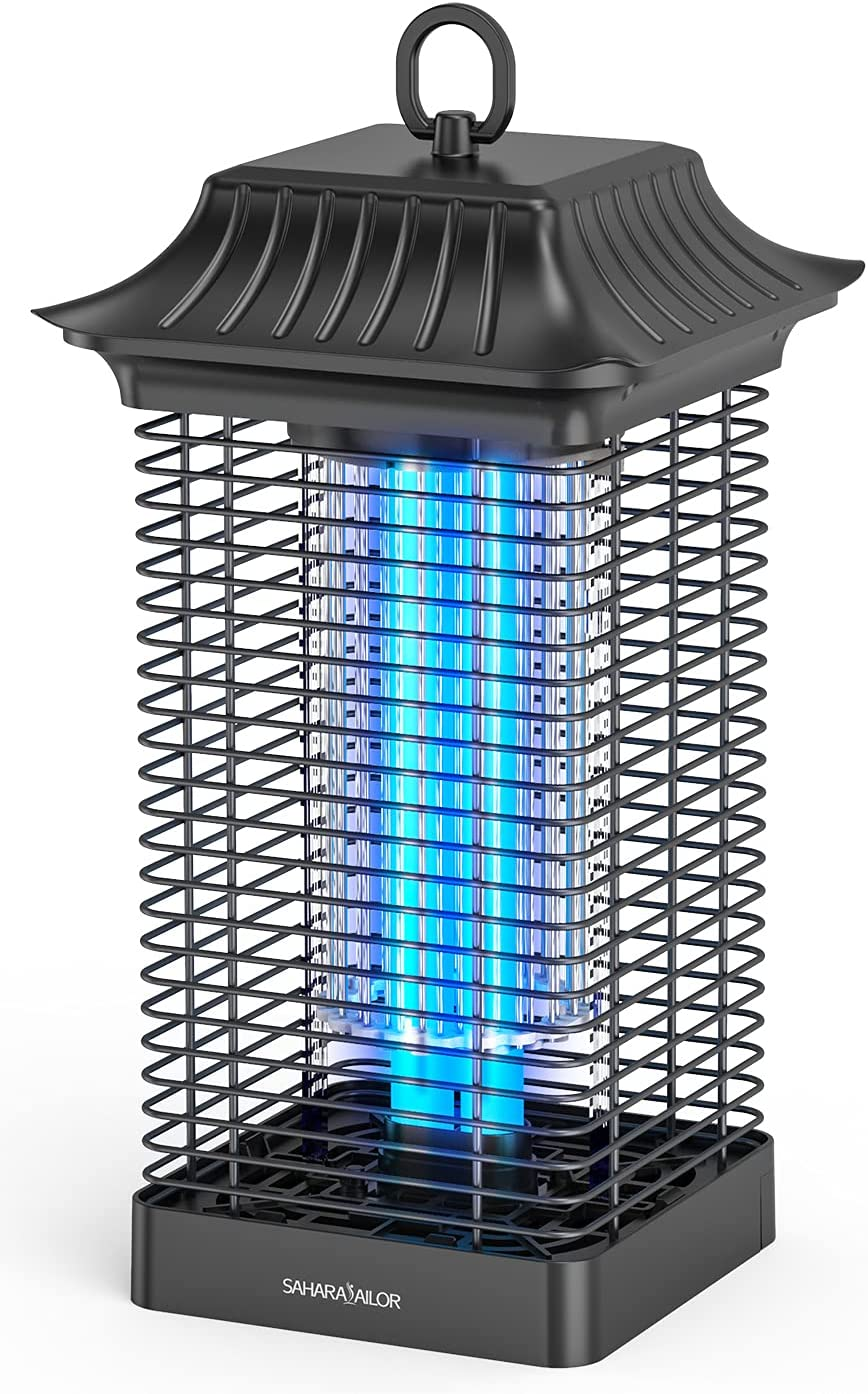 Bug Zapper for Be super welcome Outdoors Regular store Electronic Mosquito 4000V Ou