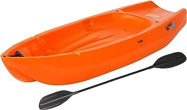 Lifetime Wave Youth Kayak with Paddle 6-Feet, Orange