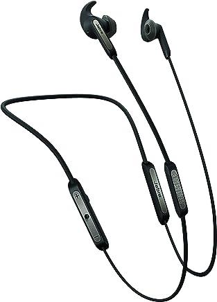 Jabra Elite 45e - Wireless Headset with memory wire and One-touch Amazon Alexa - Titanium Black