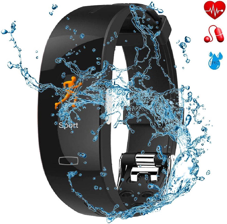 Best Fitness Tracker with Heart Rate Monitor Bracelet PPG+ECG Photoelectric Electrode ECG Blood Pressure Heart Rate Measurement Waterproof Bracelet