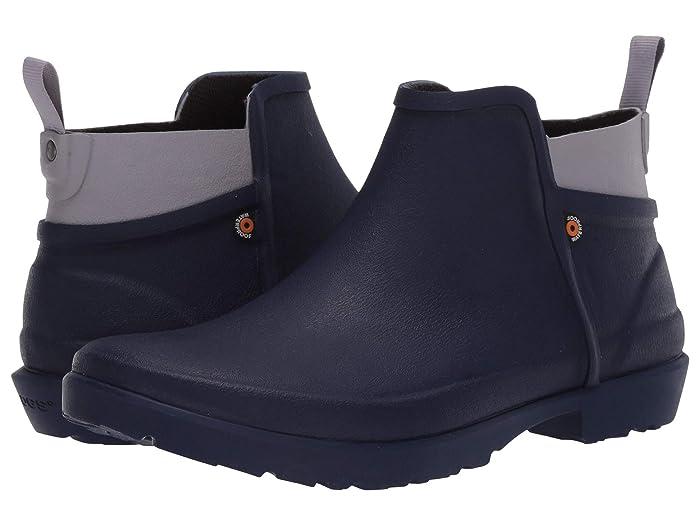 Bogs  Flora Bootie (Indigo) Womens Rain Boots