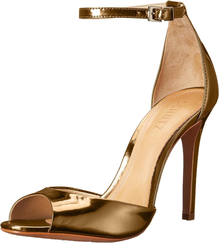 Schutz Womens SAASHA-LEE Heeled Sandal
