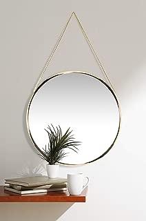 round glam mirror