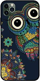 iPhone 11 Pro Case Cover Floral Owl Moreau Laurent Premium Design Phone Covers