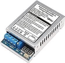 DROK 180050 DC-DC 80W Auto Boost Buck Voltage Regulator Stabilizer 5A 3.3V-30V to 0.5V-33V LED Display Volt Stabilizer Transformer Adjustable Output