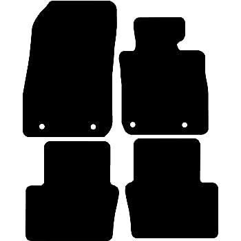 Prestige Connected Essentials CEM750 Car Mat Set for Laguna Coupe 2009 Black with Black Trim