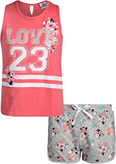 Real Love Girls 2-Piece French Terry Short Set