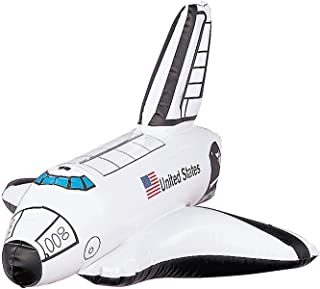 Fun Express Inflatable Space Shuttle (Set of 12) Birthday Party Favors