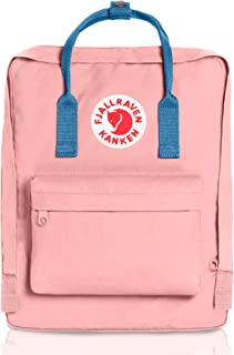 kanken backpack pink and blue