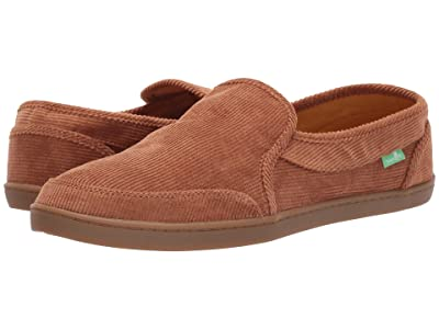 Sanuk Pair O Dice Corduroy (Roasted Pecan) Women