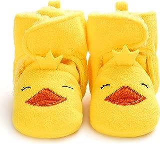 SEEYAN Baby Girl Boy Soft Fleece Booties Slippers Newborn Infant Warm Winter House Shoes