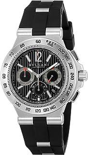 [ブルガリ] 腕時計 ディアゴノプロフェッショナル ブラック文字盤 DP42BSVDCH 並行輸入品 ブラック