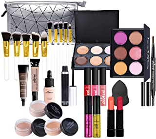 Makeup Kit for Women Full Kit, 28PCS Multi-Purpose Makeup Kit All-in-One Makeup Gift Set Makeup Essential Starter Kit, Com...