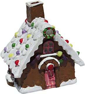 gingerbread house with garden