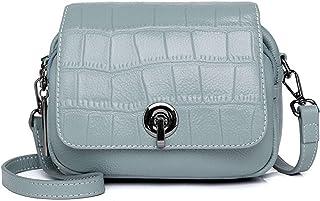 حقائب صغيرة للسيدات , رمادي فاتح للسيدات , حقائب كتف عريضة النطاق , حقائب جلدية صغيرة للفتيات