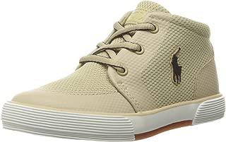 Polo Ralph Lauren Kids Kids' Faxon II SP Mid Khk Msh/Nvy PP Sneaker