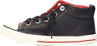3b4ca410b9637 Amazon.fr   Converse All Star - Cuir   Chaussures   Chaussures et Sacs