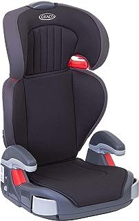 Graco Junior Maxi Kindersitz Gruppe 2/3, 15-36 kg, 4 bis 12 Jahre, Kopfstütze und Armlehnen höhenverstellbar, inkl. Getränkehalter, Black