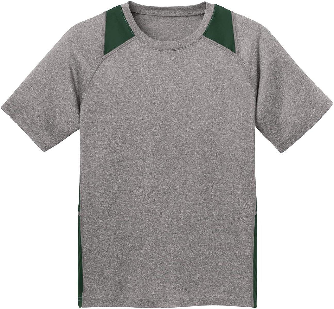 Sport-Tek YST81 Youth Fleece-Lined Colorblock - Ranking TOP6 Forest Gr Jacket Excellent