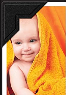 Lineco Self-Adhesive Acid-Free Photo Corners, 0.5 inches, Black, Package of 252 (533-0024PS)