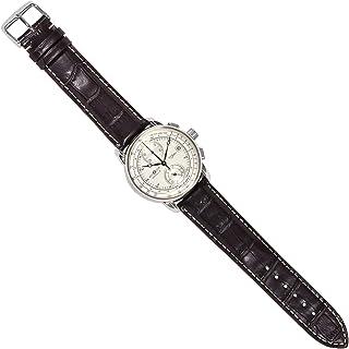 ツェッペリン ZEPPELIN 腕時計 8670-1 100周年記念 クォーツ 42mm レザーベルト [並行輸入品]