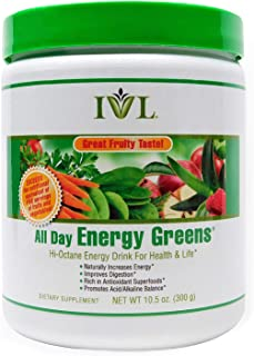 Ivl All Day Energy Greens Organic