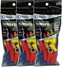 Cambridge Winged Screw On Wire Connectors Assorted 25 Pieces per Pack 3 Packs 75 Pieces Total