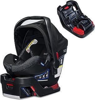 Britax B-Safe Ultra Cool Flow Infant Car Seat, Grey With B-Safe 35/B-Safe Elite Base
