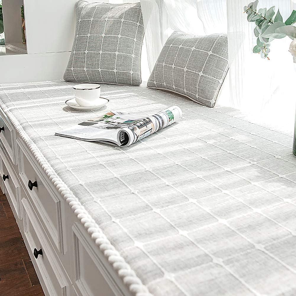 CClz セール価格 Modern Window Bench Mat Bay Pad 人気急上昇 Cotton Seat Cushions