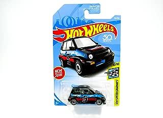 Hot Wheels 2018 50th Anniversary HW Speed Graphics '85 Honda City Turbo II 190/365, Black